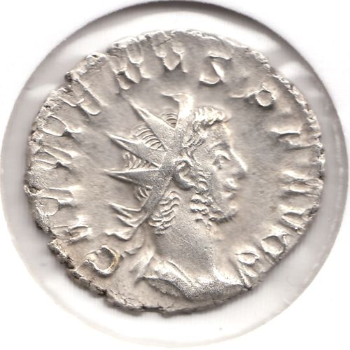 Kommission-Gallienus -Silber-Billion Antoninian - VIRT GALLIENI AVG